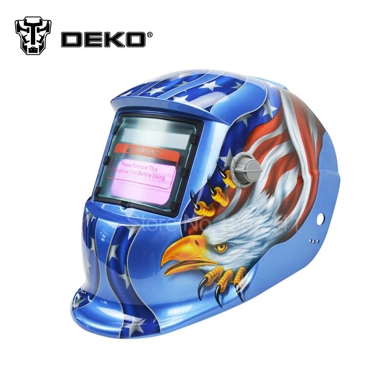 Mascara de soldar con oscurecimiento automatico deko - Mascara de soldar ...