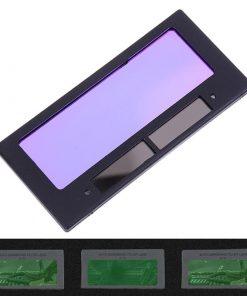 Cristal solar oscurecimiento automático protector de ojos soldador