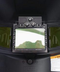 Mascara de soldadura oscurecimiento automático con vista lateral 3 DIN 5-9/9-13