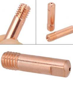 20 Boquillas de soldadura MIG de soldadura semiautomática 0,8/1/1, 2mm