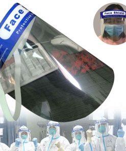 2 uds de careta de protección facial completa de doble cara