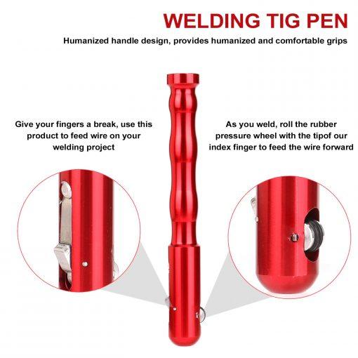 Soporte tipo boligrafo de varilla para Soldadura Tig desde 1-3,2mm