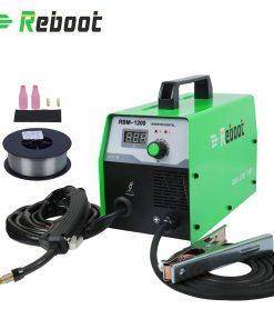 Equipo de soldadura REBOOT MIG 120 220V soldadura de acero sin Gas