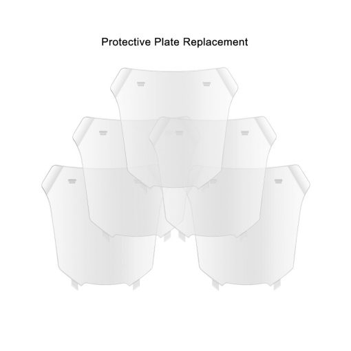 5 piezas de repuesto lente placa protectora exterior para mascara de soldar DEKO DNS-550E/980E