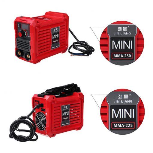 Equipo de soldadura Mini inversor de CC de 220V, 10-225/250A portátil