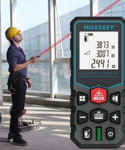 Medidor de distancia láser cinta digital electrónica Telémetro Láser