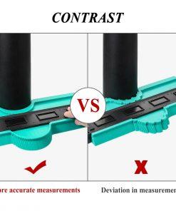 Calibrador de contorno y perfiles con medidas de 12/14/25/50 cm