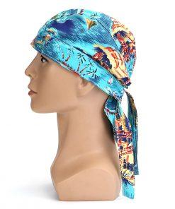 Pañuelo o bandana protectora de algodón ignífugo para soldadores