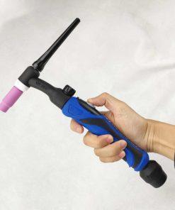 Pistola antorcha cuerpo flexible refrigerado por aire TIG 26F