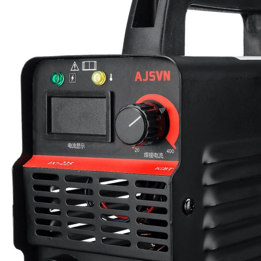 Máquina de soldadura eléctrica con pantalla LCD de ZX7-225, dispositivo portátil de 20A-225A 4200W, inversor de arco/MMA, mini soldador IGBT portátil con pantalla Digital