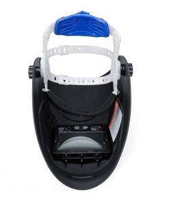 Mascara de soldadura solar DIN 9-13/ DIN 4, oscurecimiento automático