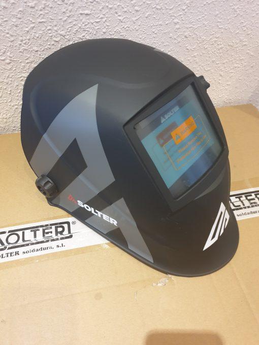 Fantastica mascara de soldadura SOLTER HELLMET R-10 gran calidad y visor