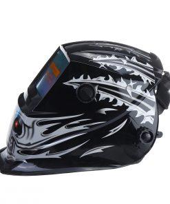 Máscara de soldadura de oscurecimiento automático con energía solar TIG MIG