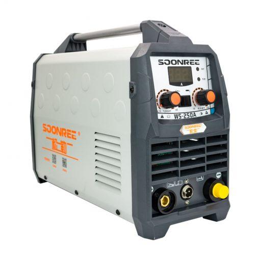 Equipo de Soldadura Tig profesional portátil de 220V, WS-200A de potencia, 250A, Tig Arc 2 en 1