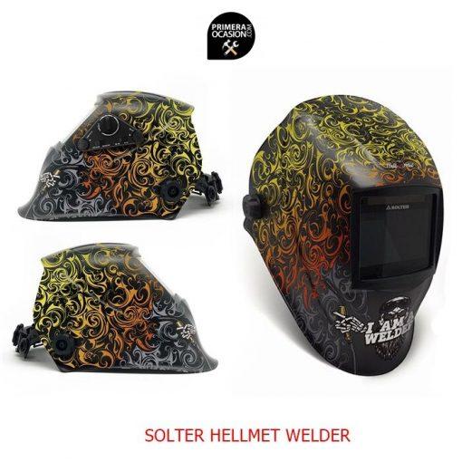Mascara de soldadura automatica SOLER HELLMET WELDER