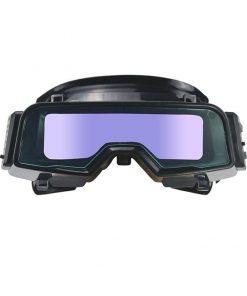 Gafas protectoras mascara de soldadura lentes con oscurecimiento automático