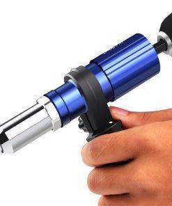 Pistola de remaches adaptador para taladro de 2,4mm-4,8mm