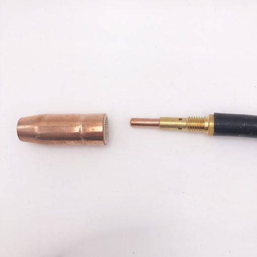 Antorcha Pistola de soldar refrigerada por aire MIG de NT-1, 5 metros, con conector Miller