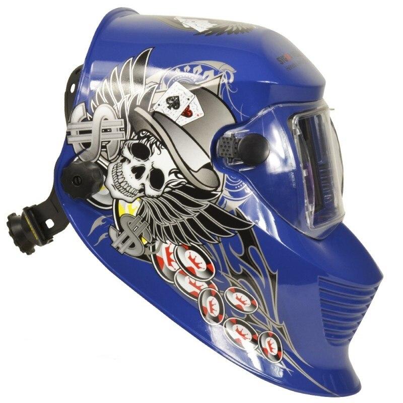 Mascara de soldar Área de visión 98 x 41mm modelo Sygma Poker
